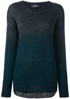 Capucci degradé effect pullover