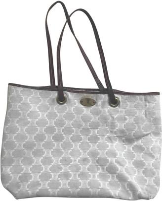 Celine Beige Cloth Handbags