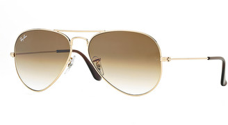 Ray-Ban Mirrored Flash Aviator Sunglasses
