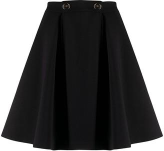 Elisabetta Franchi A-line pleated skirt