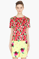 Marc Jacobs yellow multicolor carnation T-Shirt
