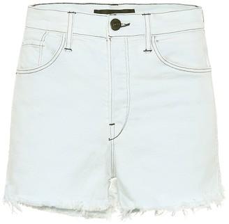 3x1 Carter high-rise denim shorts