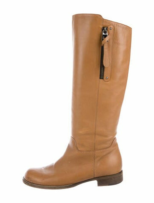 Barbara Bui Leather Riding Boots