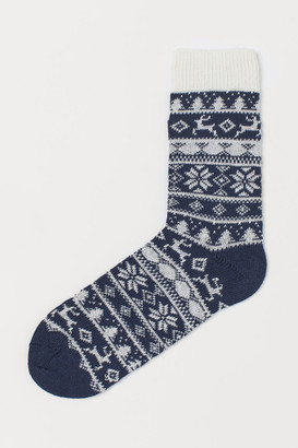 H&M Knitted patterned socks