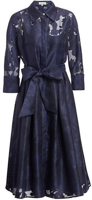 Teri Jon by Rickie Freeman Skirt Framed Dress