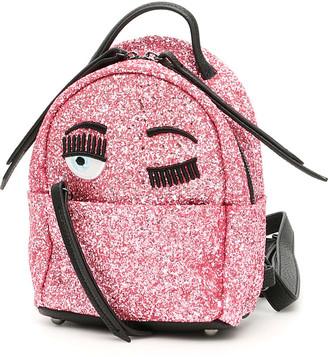 Chiara Ferragni Glitter Flirting Mini Backpack