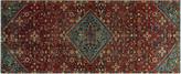 One Kings Lane Vintage Baluch Wilbur Runner - 3'11 x 9'8 - Noori Rug - rust/grey