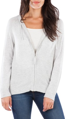 KUT from the Kloth Lana Zip Front Hooded Sweater
