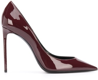 Saint Laurent Patent Pointed Toe Pumps