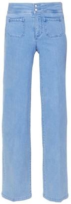 NYDJ Teresa High-Rise Wide Jeans