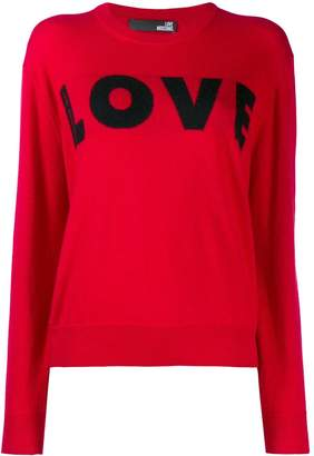 Love Moschino Love knit jumper