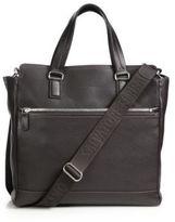 Salvatore Ferragamo Manhattan Leather Crossbody Tote Bag