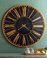 Horchow Oversized Wall Clock