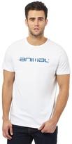 Animal White Logo Print T-shirt