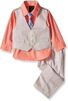 Nautica Baby Texture Vest Set