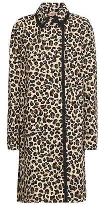 N°21 N21 Leopard-print Cotton-canvas Jacket