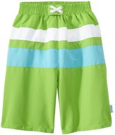 I Play Boys' Classic Colorblock Trunks w/Builtin Swim Diaper (6mos-4T) - 8145774