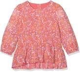 Mothercare Floral Frill Hem Blouse,(Manufacturer Size:104)