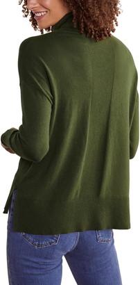 Boden Turtleneck Stitch Detail Sweater