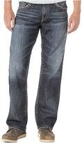 Silver Jeans Co. Men's Loose-Fit Straight-Leg Gordie Jeans