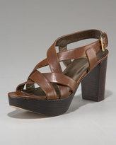Strappy Chunky-Heel Sandal