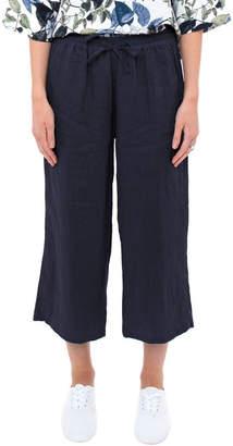 Jump 7/8 Wide Leg Linen Pant