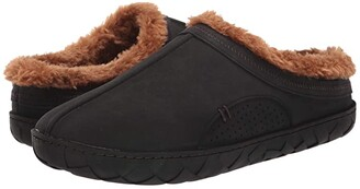 Flojos Que Lined Slipper (Black/Brown) Shoes