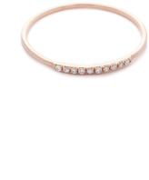 Gabriela Artigas Pave Diamond Mini Axis Ring