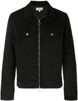 Soulland cropped zipped denim jacket