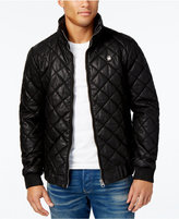 G Star Men's Quilted Hooded Jacket
