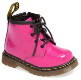 Dr. Martens Infant Girl's 'Brooklee' Patent Leather Boot