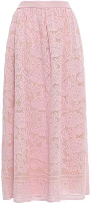 M Missoni Crocheted Cotton-blend Maxi Skirt