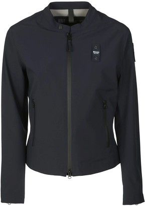 Blauer Round Collar Zipped Jacket