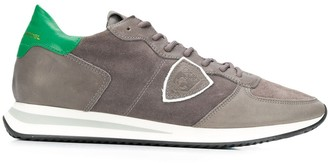 Philippe Model low panelled sneakers