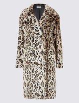 Per Una Leopard Print Coat