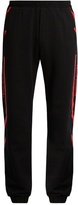 Marcelo Burlon County of Milan Platon cotton-jersey track pants