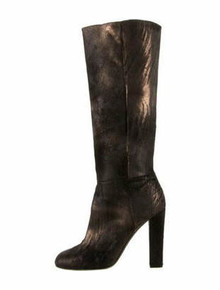 Diego Dolcini Mohair Boots Black