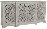 Pottery Barn Virginia Carved Wood Buffet
