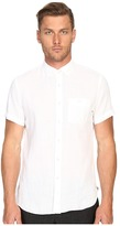 Todd Snyder Short Sleeve Classic Linen Plainweave Button Up