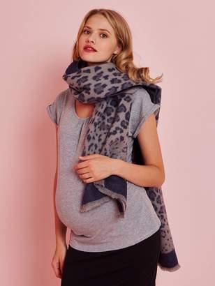 Vertbaudet Long Scarf with Leopard Motif, for Women