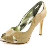 Alfani Lyrra Women US 7.5 Nude Peep Toe Heels