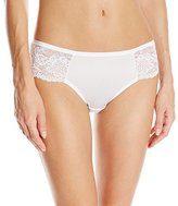 Bali Women's One Smooth U Comfort Indulgence Satin with Lace Bikini