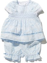 M&Co Ditsy print top and bloomer set
