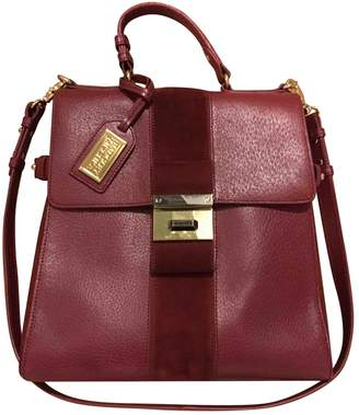 Badgley Mischka Burgundy Leather Handbags