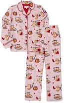 PJ Salvage 'PB & J' Two-Piece Pajamas (Big Girls)