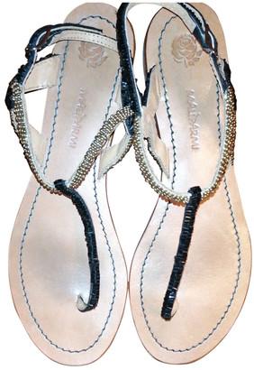 Maliparmi Multicolour Glitter Sandals