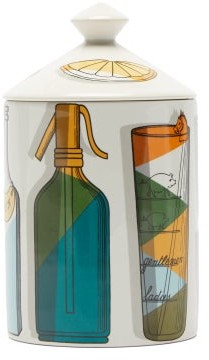 Fornasetti Cocktail Otto-scented Candle - Multi