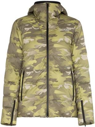 Colmar camouflage print puffer jacket