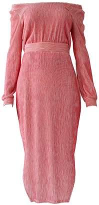 Red Dimi Skirt Set