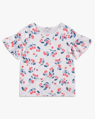 Splendid Girl Cherry Print Top